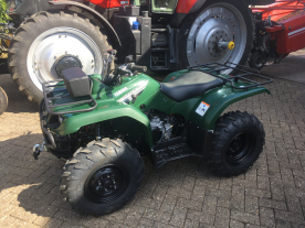 YAMAHA GRIZZLY 350 QUAD AFGELEVERD.