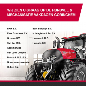 26, 27 en 28 NOVEMBER 2019 RUNDVEE & MECHANSIATIE VAKDAGEN IN GORINCHEM.